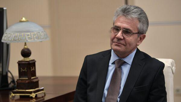 Президент Российской академии наук академик Александр Сергеев. 27 сентября 2017