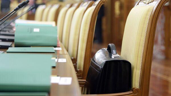 Портфель чиновника. Архивное фото
