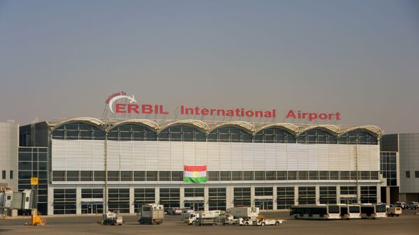 Аэропорт Эрбиля в Иракском Курдистане