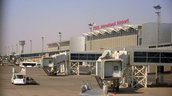 Аэропорт Эрбиля Эрбиль Иракский Курдистан. Архивное фото