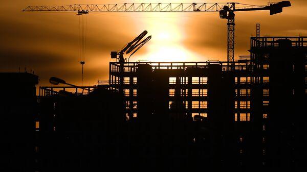 Строительство жилого комплекса