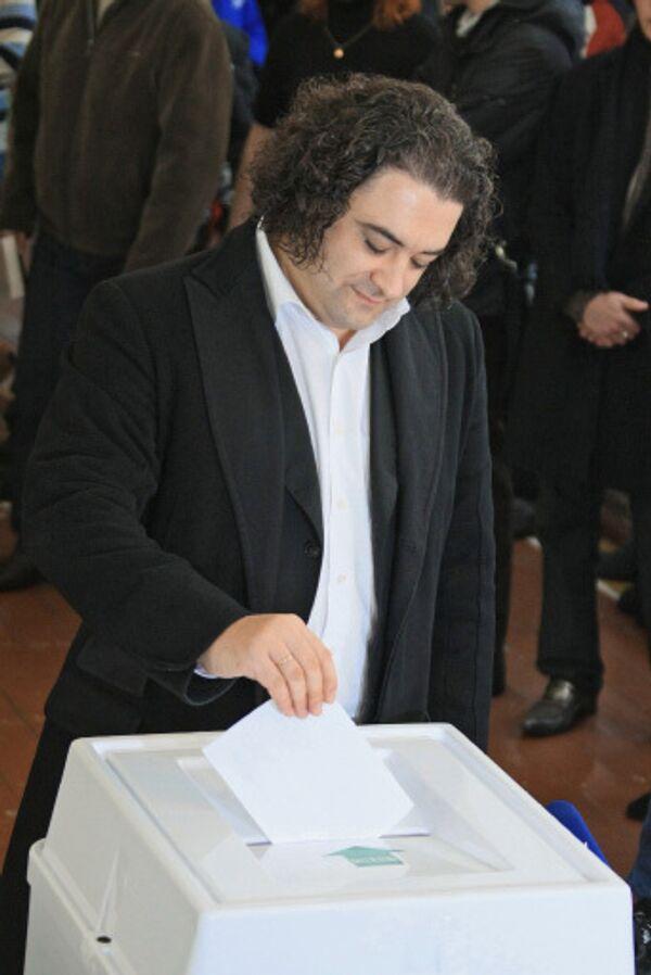 Около 1,4 тыс человек проголосовали на выборах президента Абхазии в Москве