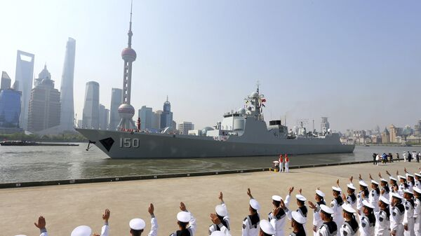 Корабль ВМФ Китая