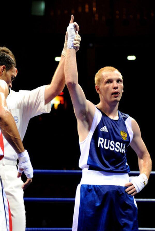 Российский боксер Алексей Тищенко в Пекине
