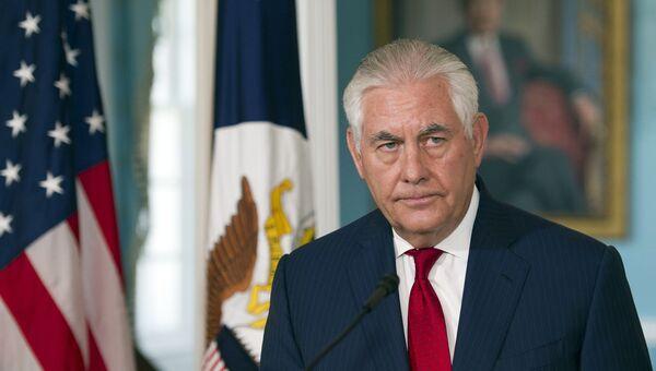 Государственный секретарь США Рекс Тиллерсон. Архивное фото