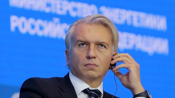 Председатель правления, генеральный директор ПАО Газпром нефть Александр Дюков во время форума Российская энергетическая неделя в Москве. 5 октября 2017