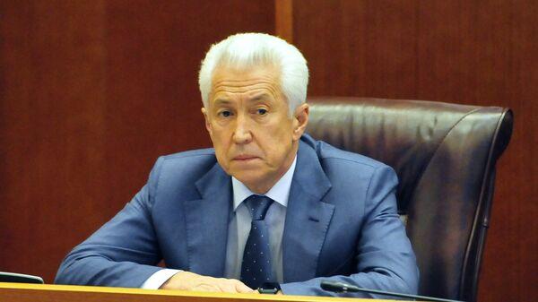 Врио главы Дагестана Владимир Васильев. Архивное фото