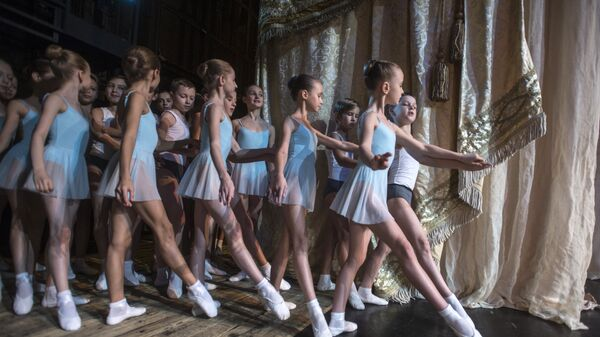 Ученики Академии Русского балета им. А.Я. Вагановой
