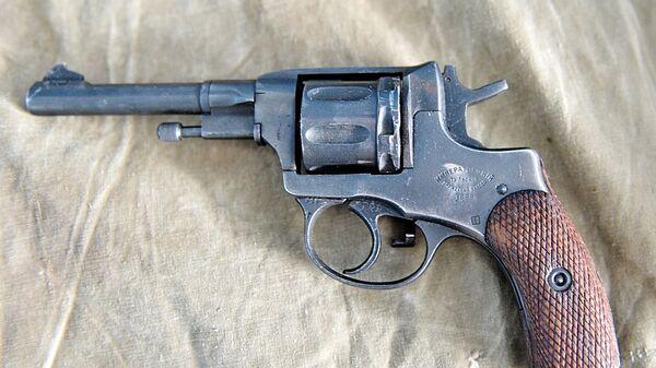 Револьвер системы Нагана