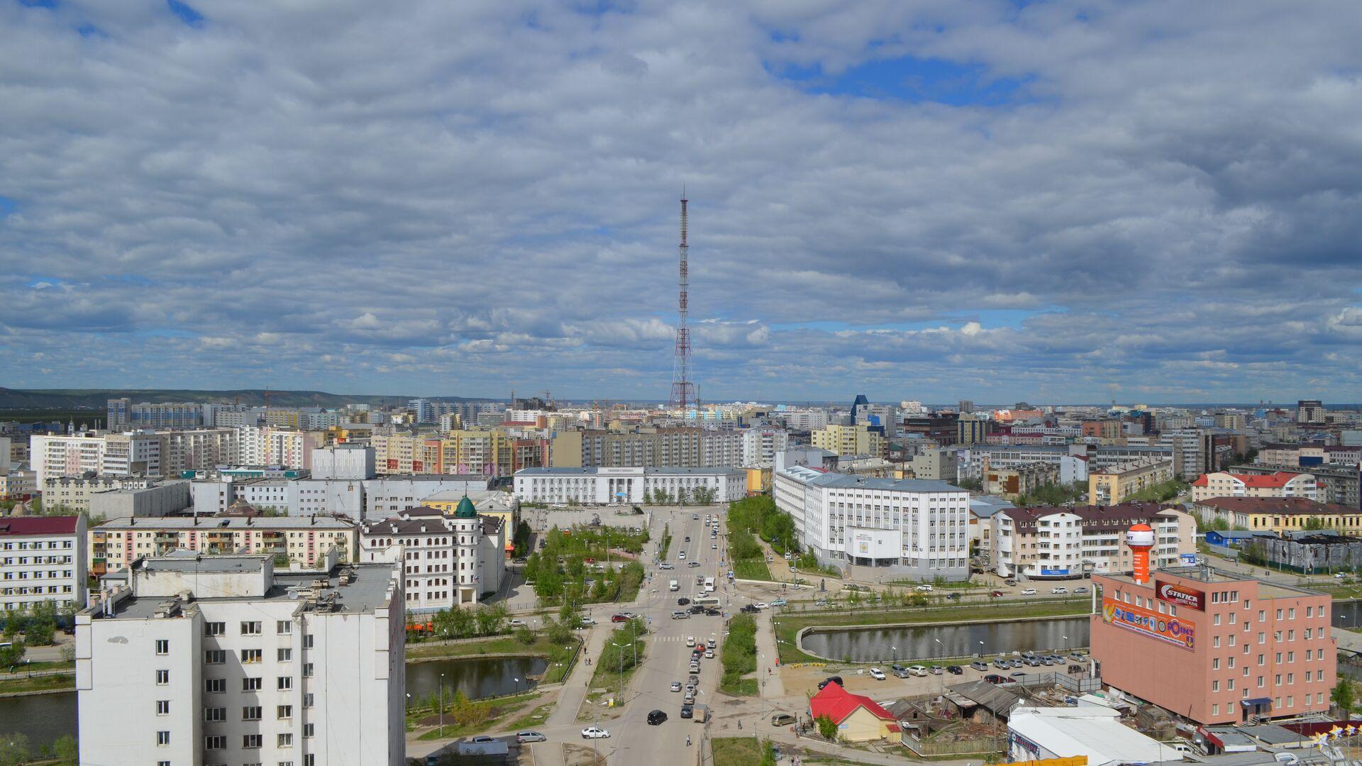 Вид на центральную часть города Якутска - РИА Новости, 1920, 21.09.2021