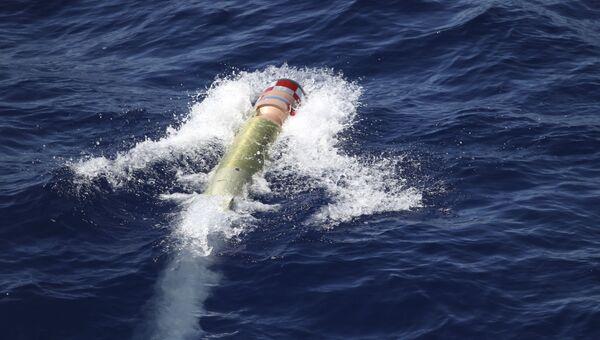 Тренировочная торпеда. Архивное фото
