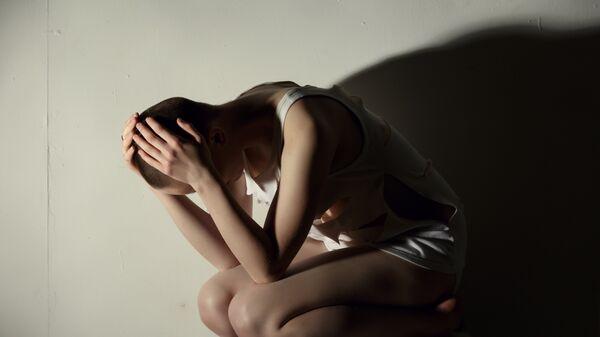 Девушка в отчаянии