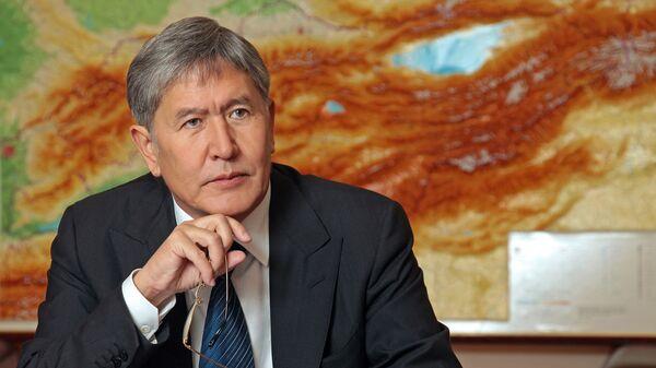 Бывший президент Кыргызской Республики Алмазбек Атамбаев