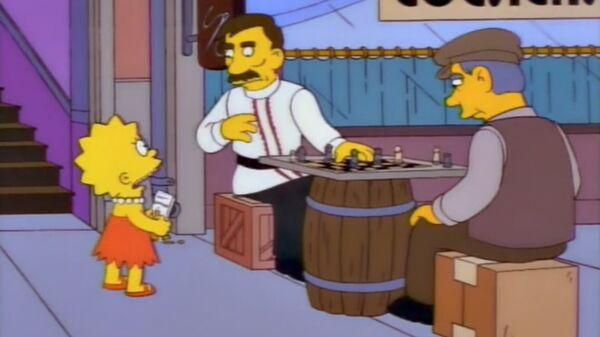 Кадр из мультсериала Симпсоны. Архивное фото