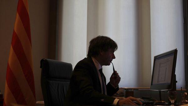 Глава женералитета Каталонии Карлес Пучдемон