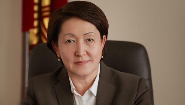 Председатель Центральной комиссии по выборам и проведению референдумов Киргизии Нуржан Шайлдабекова