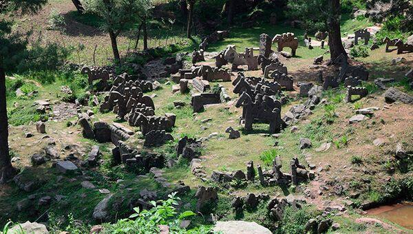 Каменные фигуры эпохи раннего средневековья, обнаруженные в Гималаях