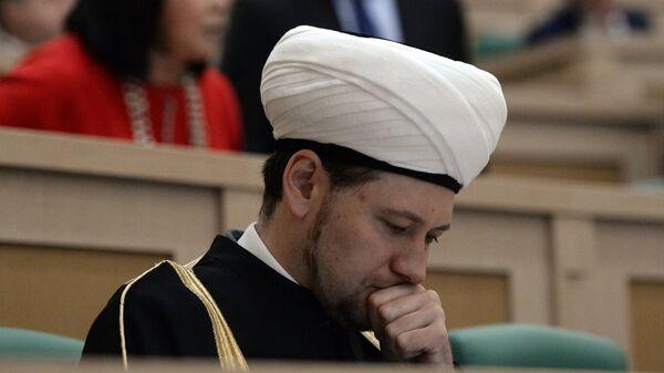 Первый заместитель председателя Духовного управления мусульман Европейской части России Дамир Мухетдинов