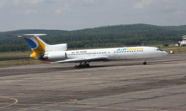 Самолет компании AiRUnion