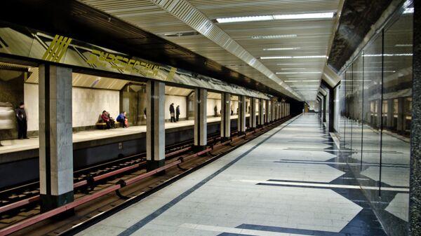 Станция Буревестник Нижегородского метрополитена
