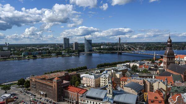 Рига в Латвии