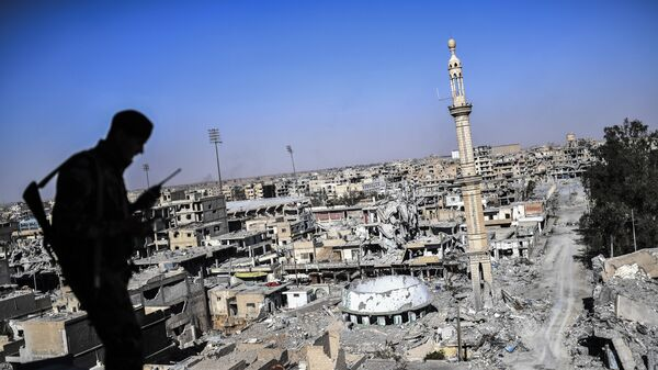 Боец Сирийских демократических сил. Архивное фото