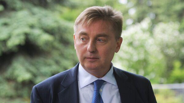 Руководитель департамента природопользования и охраны окружающей среды города Москвы Антон Кульбачевский
