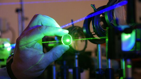 Работа лаборатории лазерных измерений