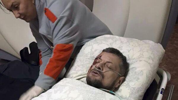 Депутат Верховной рады Игорь Мосийчук в больнице. 26 октября 2017
