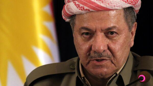 Президент иракского курдского региона Масуд Барзани. Архивное фото