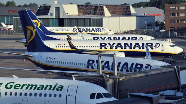 Самолеты в аэропорту в Германии. Архивное фото