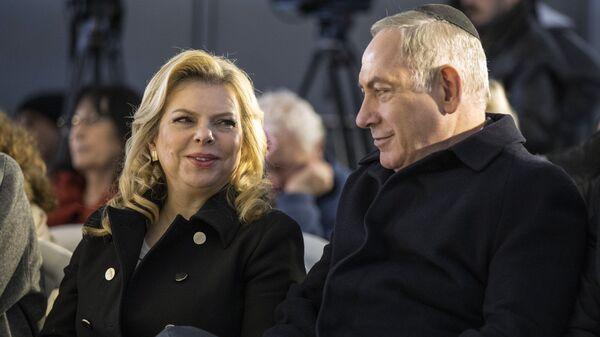 Премьер-министр Израиля Биньямин Нетаньяху и его жена Сара