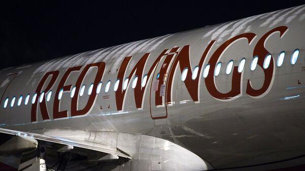 Самолет Airbus A-321 авиакомпании Red Wings