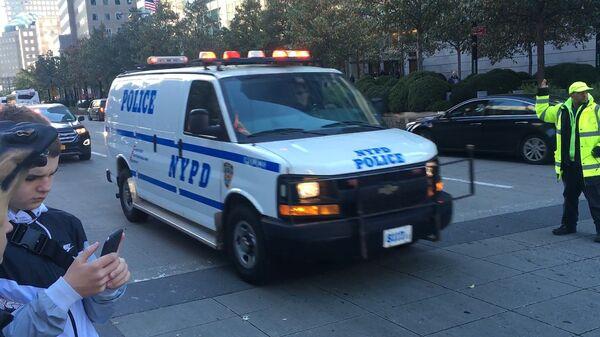 Полицейский автомобиль в Нью-Йорке. Архивное фото