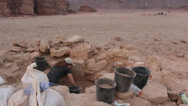 Раскопки в долине Тимна на юге Израиля