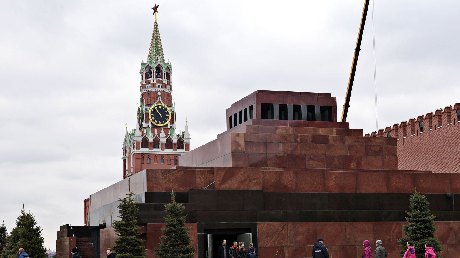 Мавзолей Ленина - РИА Новости, 1920, 11.06.2020