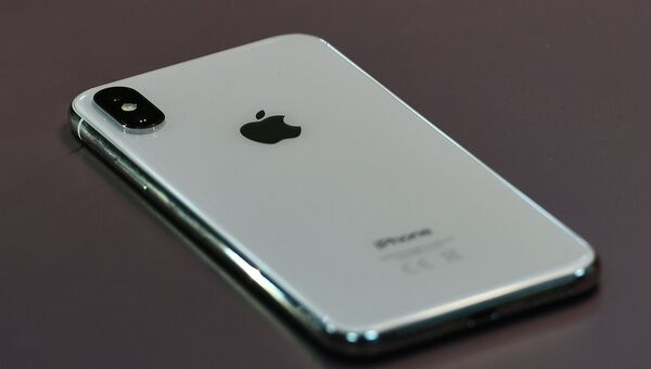 iPhone X. Архивное фото
