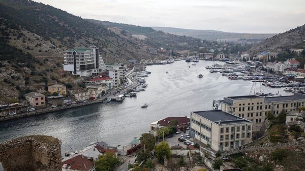 Бухта города Балаклавы в Крыму. Архивное фото