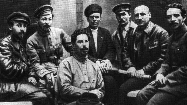 Члены ВЧК в 1919 году