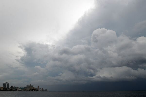 Ураган  Густав на Кубе