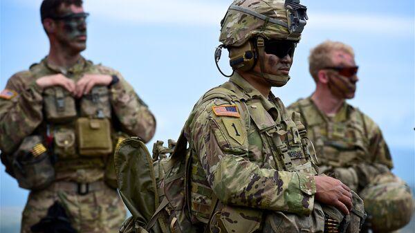Военнослужащие США. Архивное фото