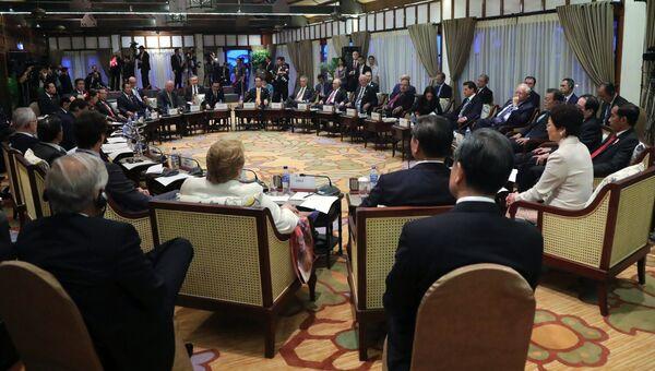 Президент РФ Владимир Путин принимает участие во встрече лидеров экономик форума АТЭС с лидерами АСЕАН в рамах саммита АТЭС. 10 ноября 2017
