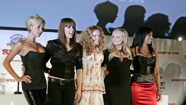 Участницы поп-группы Spice Girls. Архивное фото