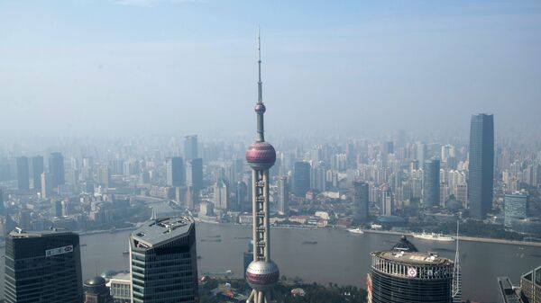 Вид на Шанхай. Архивное фото