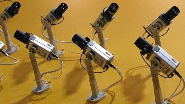 Системы видеонаблюдения. Архивное фото