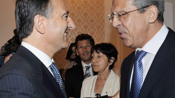 Министр иностранных дел Италии Франко Фраттини. Архив