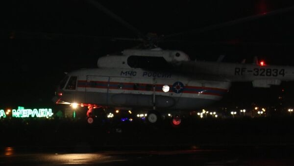 Вертолет МЧС доставил в Казань девочку, пострадавшую в ДТП в Республике Марий Эл