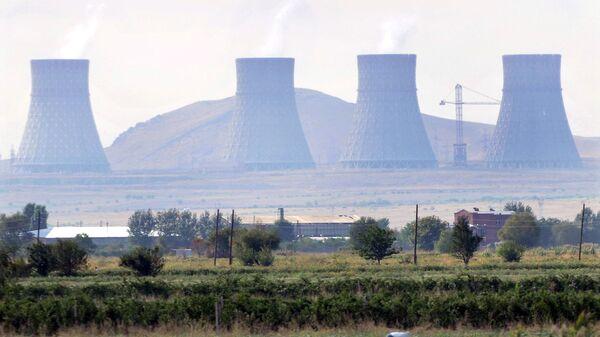 Армянская АЭС. Архивное фото
