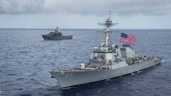 Американский эсминец USS Benfold (DDG-65)
