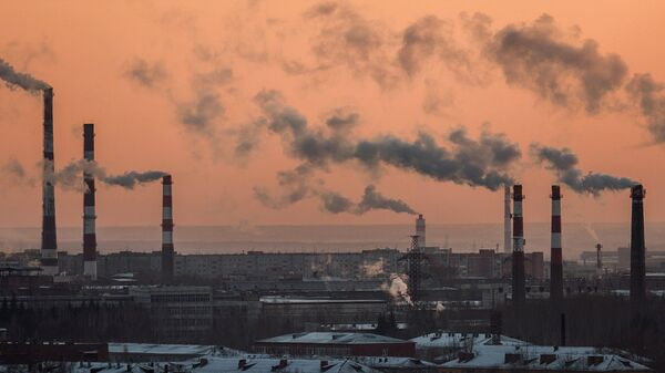 Трубы промышленных предприятий